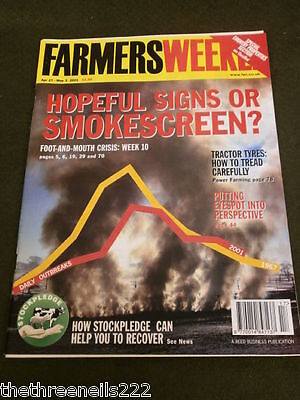 Farmers Weekly - Tractor Tyres - April 27 2001