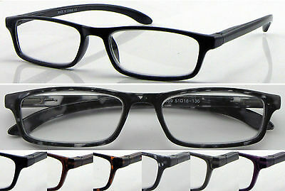 L359 Superb Quality Reading Glasses/Spring Hinges/Simple & Classic Style Design