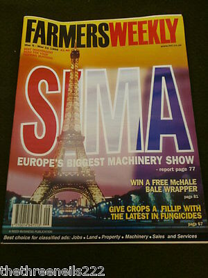 Farmers Weekly - Sima Machinery Show - March 5 1999