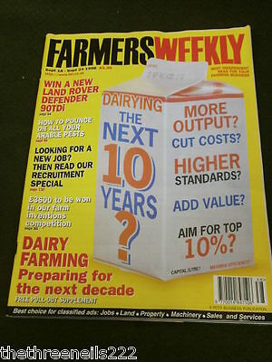 Farmers Weekly - Dairy Farming The Next 10 Years - Sept 18 1998