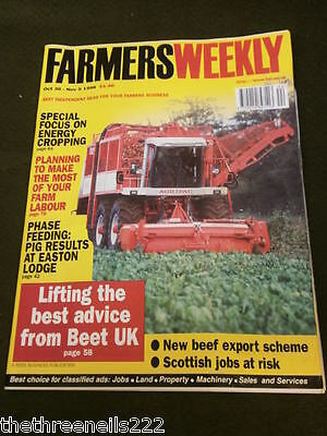 Farmers Weekly - Energy Cropping - Oct 30 1998