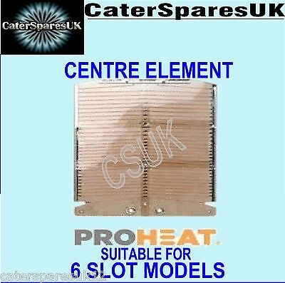 Dualit Proheat New Toaster Element Middle Universal Fits 6 Slice Models Parts