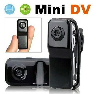New Cool Mini Spy 007 Digital Video Camera Camcorder DV DVR Hidden Camera MD80