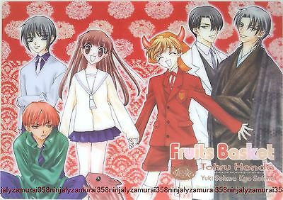 Fruits Basket clear pencil board shitajiki official anime Natsuki Takaya