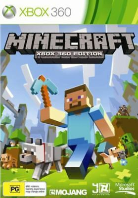 Minecraft Xbox 360 Edition Game Australian Brand New NOT IMPORTED