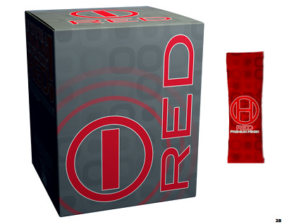 RED for Men by BHIP GLOBAL - All Natural Energy Drink for Fitness + Weight Loss