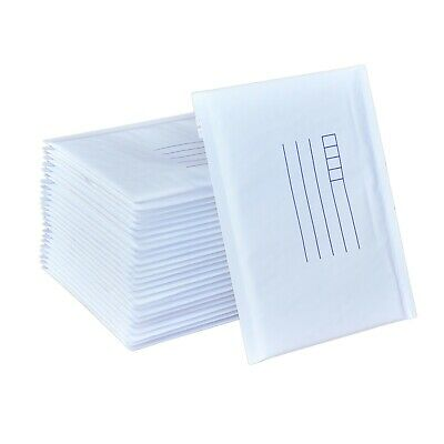 100 Size NEW #04 235 x 350mm Bubble Mailer Padded Bag -White Cushioned Envelope