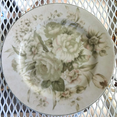 PTS International Interiors Antique Rose Stoneware Salad Plate