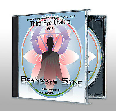 THIRD EYE / SIXTH / Ajna CHAKRA Meditation Energy Balancing Music CD NEW