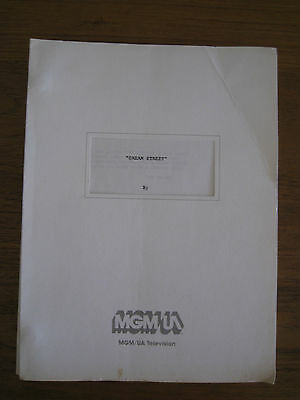 """Dream Street"" TV Script 1987 TVS150"