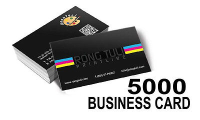 5000 Business Cards (2X3.5) 16pt Full Color Both Sides UV (Gloss)