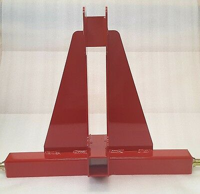 3-Point Receiver Hitch (Red)