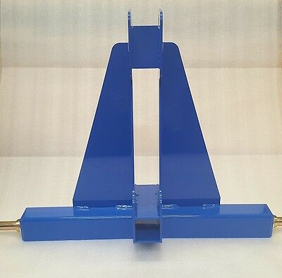 3-Point Receiver Hitch (Blue)