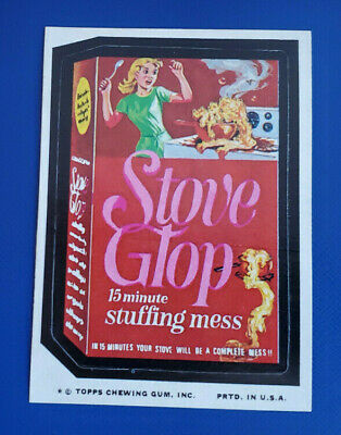 73 WACKY PACKAGES SERIES 10 STOVE GLOP NM/MT