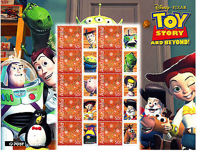 Disney PIXAR Toy Story and Beyond -  Special Events Souvenir Stamp Sheetlet