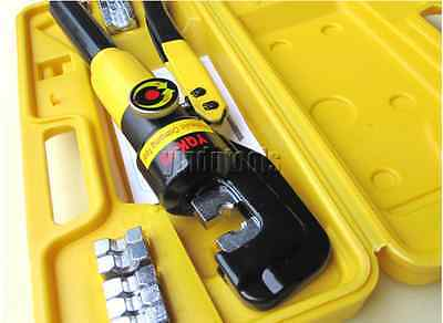 4-70mm COPPER TUBE TERMINALS CRIMPER CRIMPING CABLE LUGS BATTERY WIRE TOOL