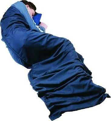 Trekmates Polyester/Cotton Travel Sleeping Bag Liner - Hotelier Square