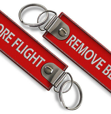 Remove Before Flight Keychain X1