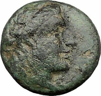 Antiochus I Soter Seleucid Kingdom  Ancient Greek Coin APOLLO Lyre Rare  i31826