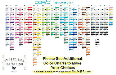 Copic SKETCH Markers  YOUR CHOICE of 6 Colors  -  Pay for 5, Get 1 Free