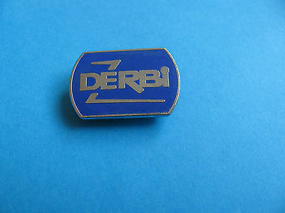 DERBI Motorcycle lapel badge, VGC. Unused. Enamel.