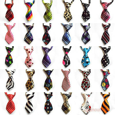 Wholesale 5-100PCS Adjustable Dog Cat Pet Lovely Adorable Grooming Tie Necktie