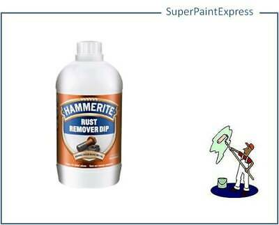 Hammerite Rust Remover Dip 500 ml 500ml Makes 5 litres