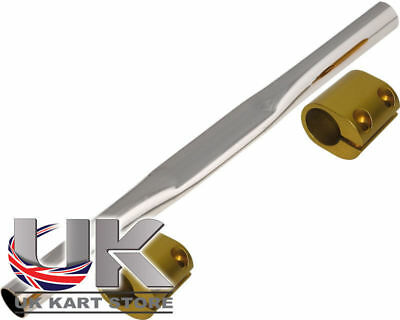 Tony Kart Torsion Bar Rear & Gold Clamps - OTK, TonyKart Go Kart