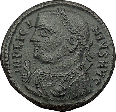 Licinius I Constantine The Great enemy 317AD Ancient Roman Coin Jupiter i32420