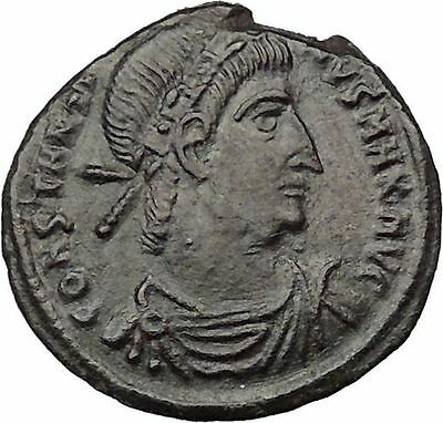 Constantine I The Great  330AD Ancient Roman Coin Legion Glory of Army i32424