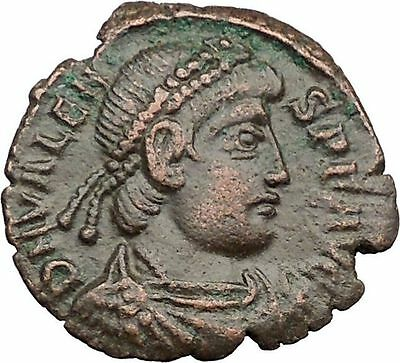 "VALENS ""Last True Roman"" 367AD Ancient Roman Coin Victory Nike Angel  i32466"