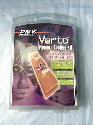 Verto Memory Cooling Kit - Accelerate Your Gaming Experience - NEW & Sealed