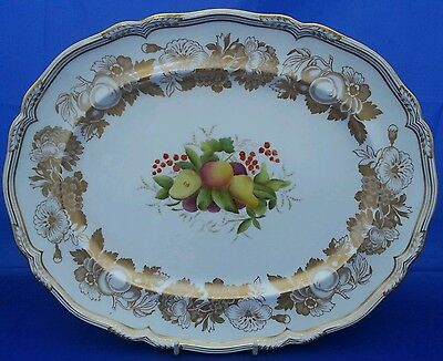 Spode Golden Valley Y7840 Oval Serving Plate (Platter) (Perfect)