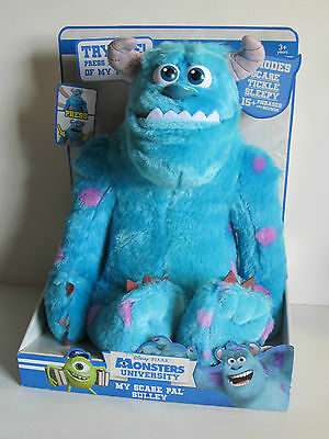 Disney PIXAR Monsters University MY SCARE PAL SULLEY w/ Phrases & Sounds Ages 3+