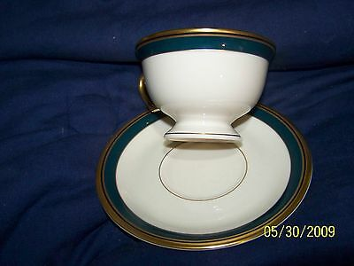 Pickard China Ensemble CUP AND SAUCER ~ BISCAYNE