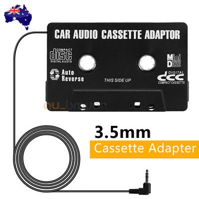 Car Tape Cassette to AUX Audio Adapter Converter for iPhone iPod MP3 Stereo