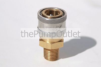 "1/4 "" MPT x Female Socket Brass Pressure Washer Quick Connect Fitting .25 Legacy"