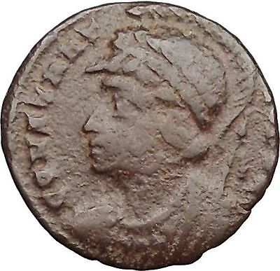 Constantine I The Great founds Constantinople Ancient Roman Coin i32672 RARE