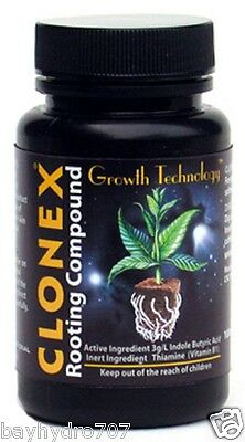 Clonex Rooting Compound Gel Cloning 15,100,250,473, 946 ml Propagation ALL SIZES