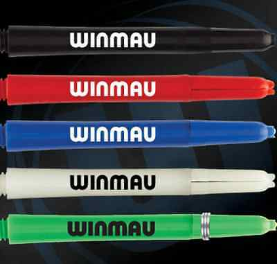 5 x SETS WINMAU NYLON SIGNATURE DART STEMS SHAFTS - Choose Colour / Length