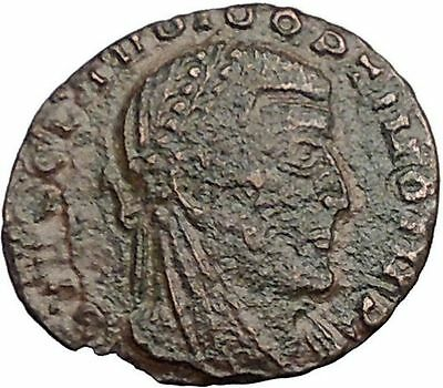 CLAUDIUS II Deification Issue under Constantine I the Great Roman Coin i32512