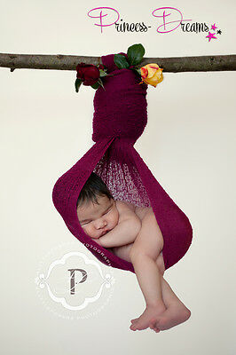 Princess-Dreams Pucktuch Stretch WRAP Schwangerschafts-Newbornfotografie Props