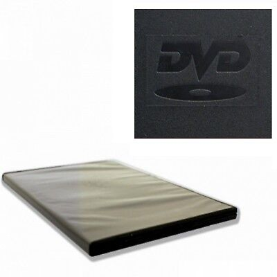 200 x 7mm 2 FACH BOX DVD SLIM HÜLLEN BLURAY BOX ZWEIFACH FILM MUSIK VIDEO HÜLLE