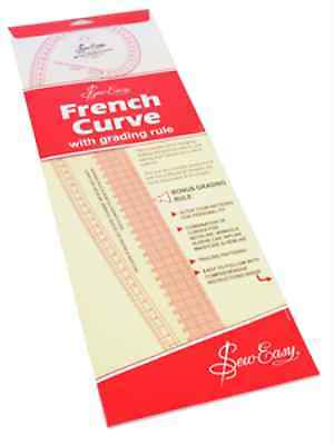 French Curve Metric Measurements