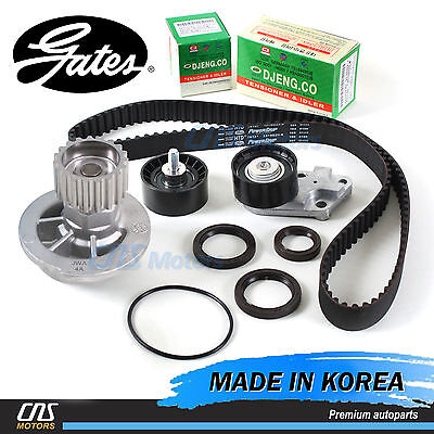 "Gates ""HTD"" Timing Belt Kit & Water Pump for 2004-2008 Chevrolet Aveo 1.6L DOHC"