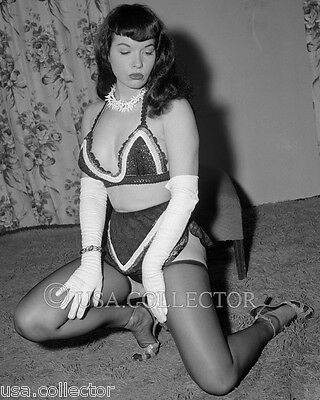 rare bettie betty page pin up photo from original negative. Black Bedroom Furniture Sets. Home Design Ideas