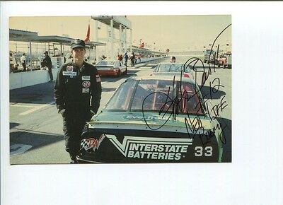 Stanton Barrett NASCAR Sprint Cup Driver Owner Racing Signed Autograph Photo