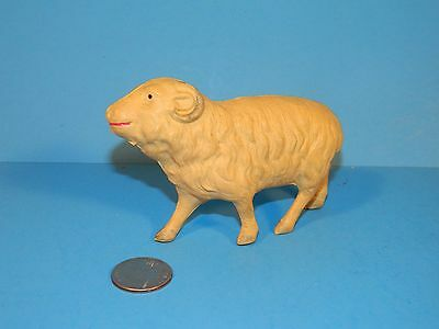 Antique Christmas decoration ornament CELLULOID Big Horn Sheep
