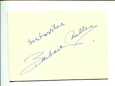 Barbara Fuller Flame of Youth How Sweet It Is! City of Bad Men Signed Autograph