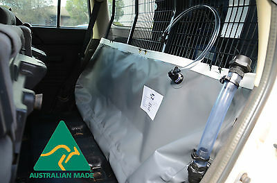 Hanging water bladder tank(60 Ltrs) for 4x4, Camping & Boating - DW 60H
